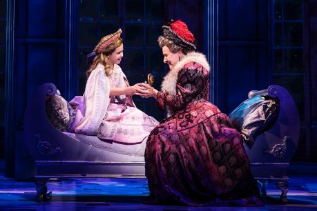 1 Victoria Bingham Little Anastasia And Joy Franz Dowager Empress In The National Tour Of Anastasia Photo By Evan Zimmerman Murphymade 1