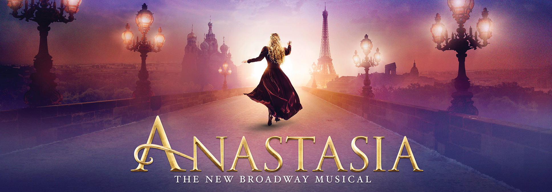 Anastasia at the Marcus Center in Milwaukee Broadway show