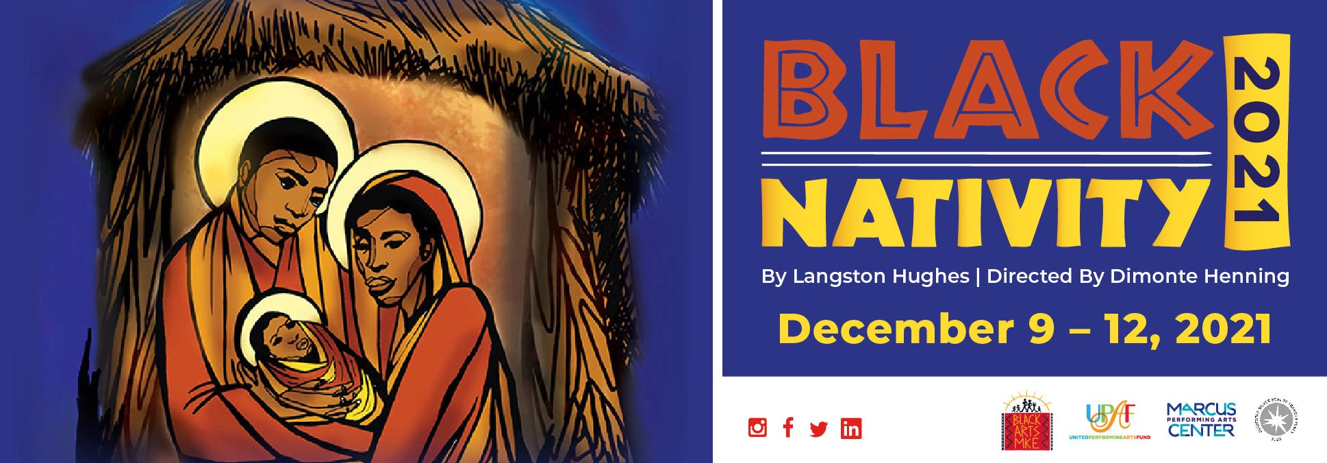 Black Nativity by Langston Hughes at the Marcus Center in Milwaukee