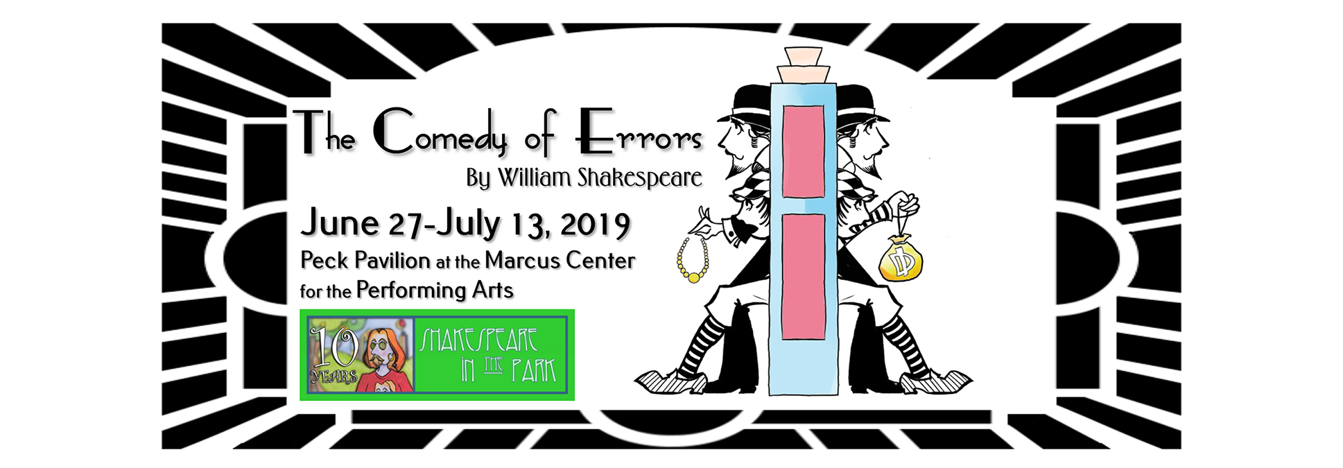 Optimist Theater Comedy of Errors in Milwaukee at the Marcus Center