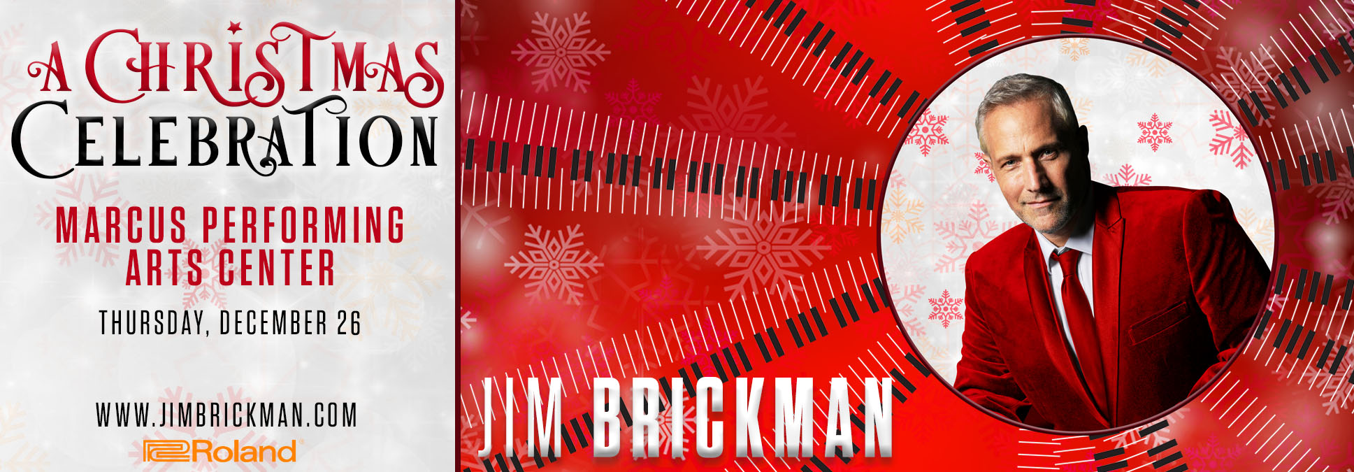 Jim Brickman at the Marcus Center in Mke