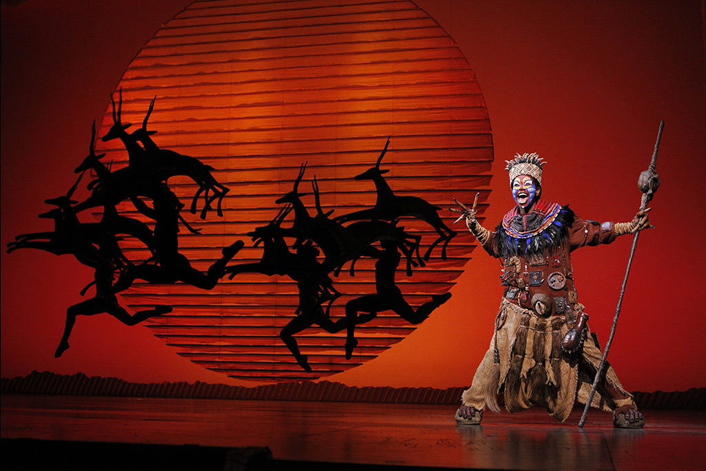 LION KING at the Marcus Center in Milwaukee