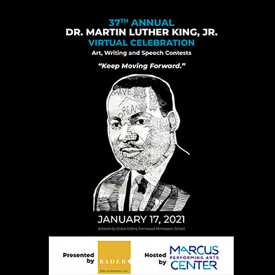 MLK Program at the Marcus Center in Milwaukee