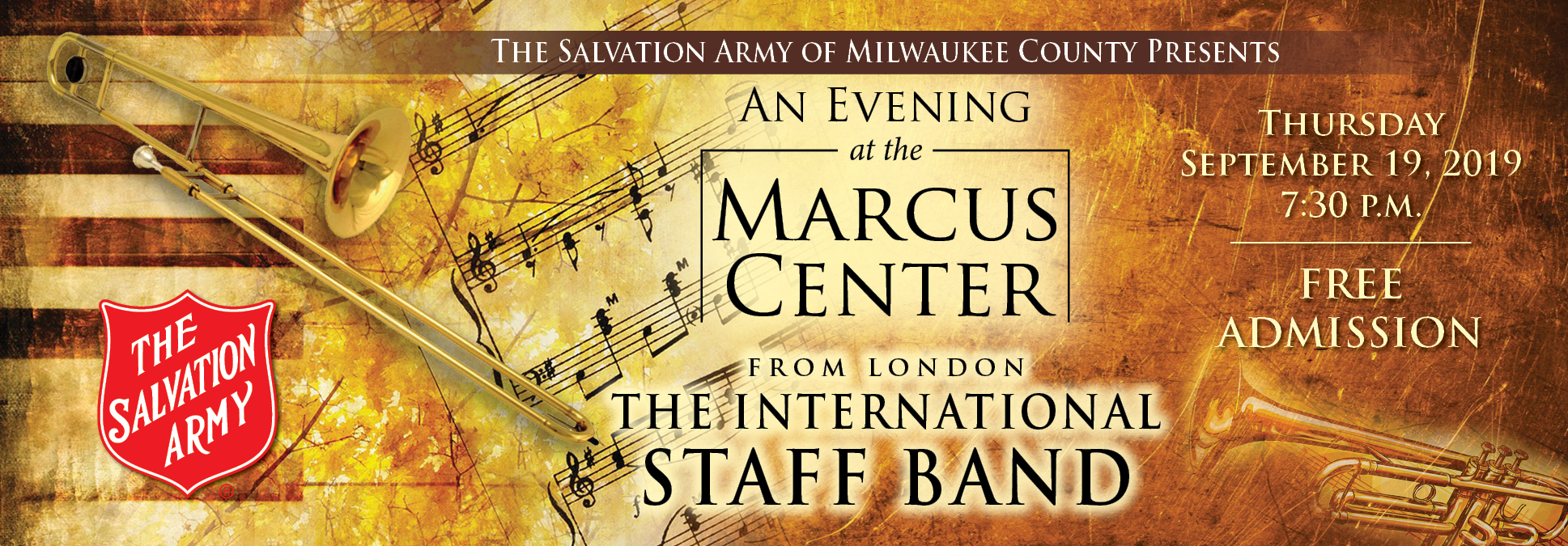 The Salvation Army An Evening at the Marcus Center