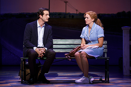 Bryan Fenkart And Desi Oakley In The National Tour Of Waitress Credit Joan Marcus 0003r