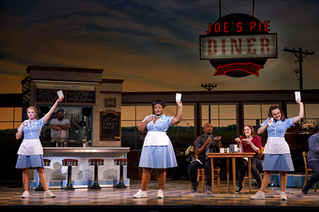 Desi Oakley Charity Angel Dawson And Lenne Klingaman In The National Tour Of Waitress Credit Joan Marcus0587r