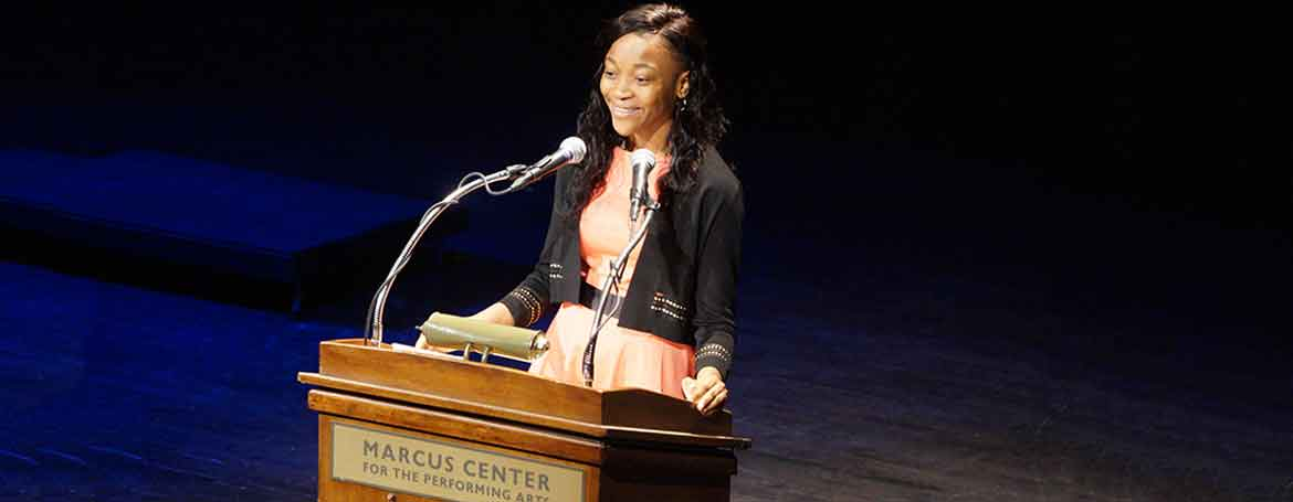 Dr. King Jr Birthday Celebration at the Marcus Center in Milwaukee