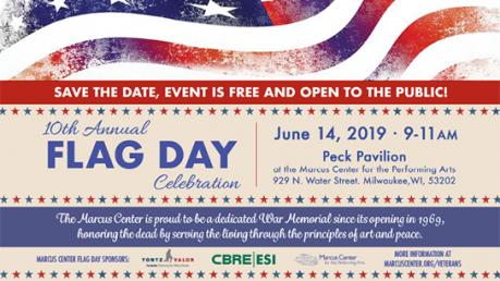 Flag Day Marcus Center Milwaukee 2019