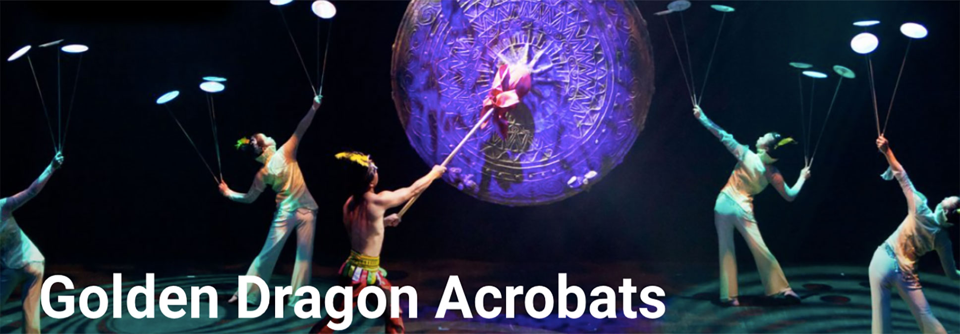 Golden Dragon Acrobats at the Marcus Performing Arts Center