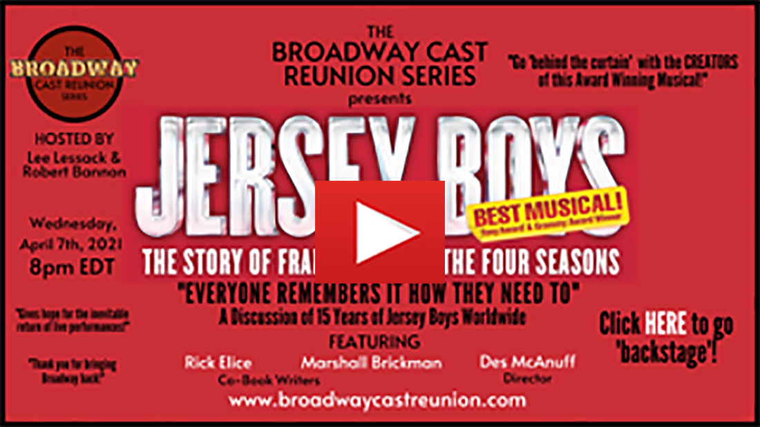 Broadway Cast Reunion Series Jersey Boys