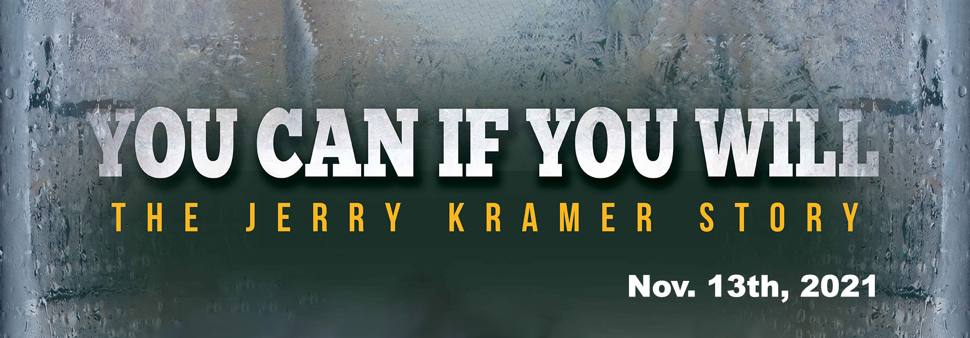 Jerry Kramer at the Marcus performing Arts Center in Milwaukee, WI
