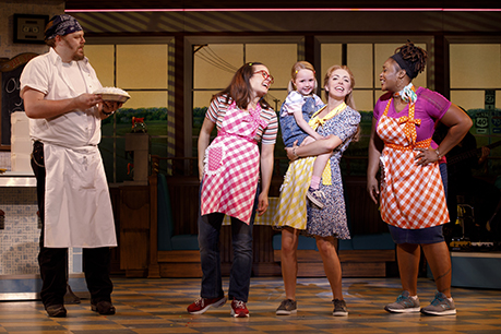 Ryan G Dunkin And The Cast Of The National Tour Of Waitress Credit Joan Marcus 0385r