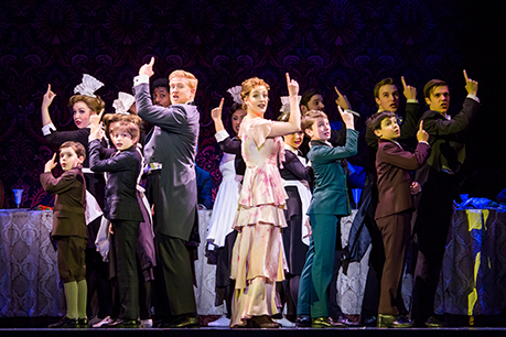 The Cast Of The National Tour Of Finding Neverland Credit Jeremy Daniel0458