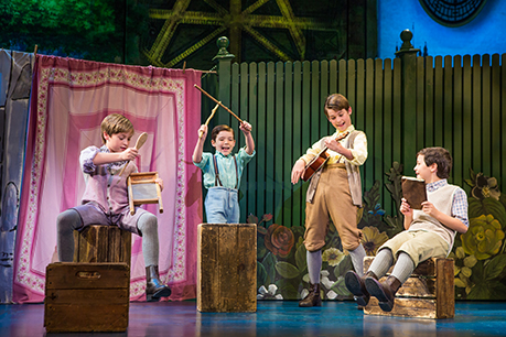 Turner Birthisel Tyler Patrick Hennessy Colin Wheeler And Conner Jameson Casey In Finding Neverland Credit Jeremy Danielimg0664