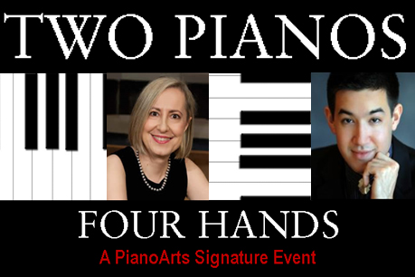 Two Painos Four Hands presented by PianoArts in Marcus Center's Vogel Hall